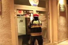 Strażacy musieli przyjechać na interwencję do szpitala w Świnoujściu.