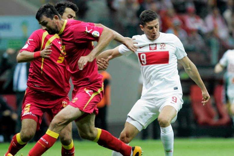 Robert Lewandowski strzelił jedynego gola dla Polski w zremisowanym meczu z Czarnogórą.