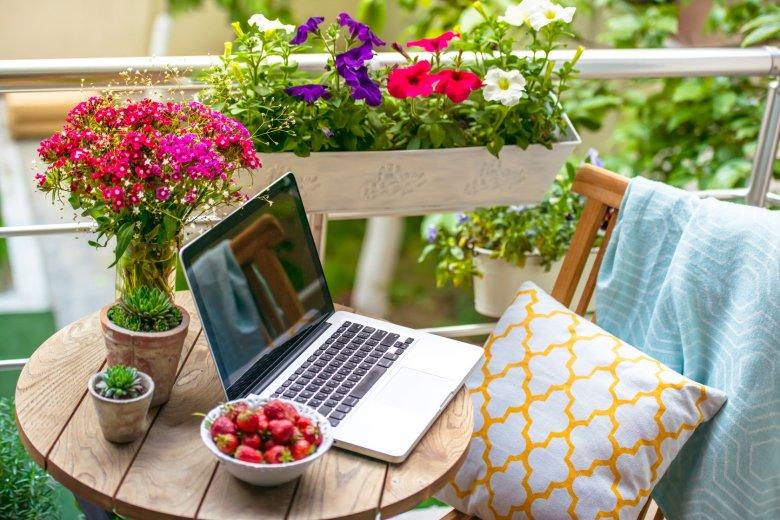 Nie ma nic przyjemniejszego, gdy w ciepły sobotni poranek możesz wypić kawę na własnym balkonie, czując jednocześnie, że nigdzie indziej wcale nie chcesz być.