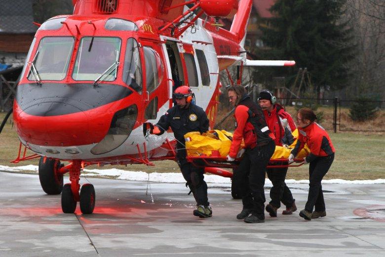 Ratownicy TOPR często ryzykują życiem przez niefrasobliwość turystów.