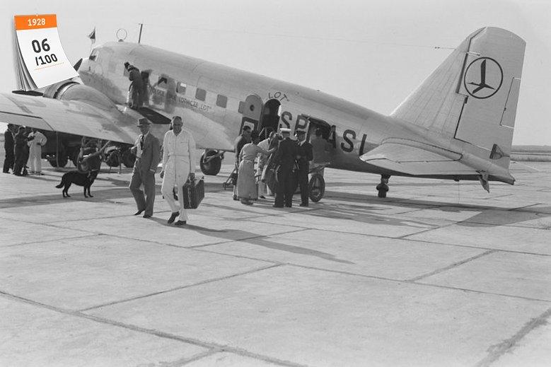 Polskie Linie Lotnicze LOT to jedna z najstarszych linii na świecie, które nadal działają