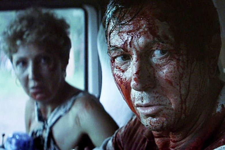 """""""Zacisze"""" to pierwszy polski slasher, czyli bardzo krwawy horror w stylu """"Piątku 13-ego"""""""
