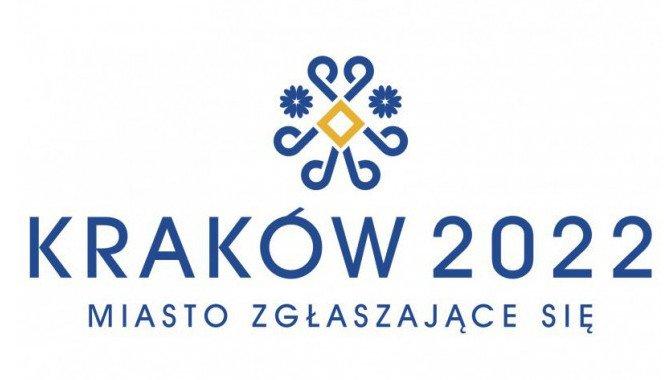 Tak wygląda projekt loga Zimowych Igrzysk Olimpijskich w Krakowie, które miałyby odbyć się w 2022 roku.