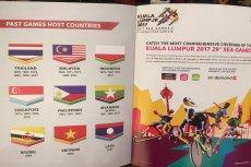 Tak wyglądał album na malezyjskich igrzyskach. Wywołał skandal w Indonezji.