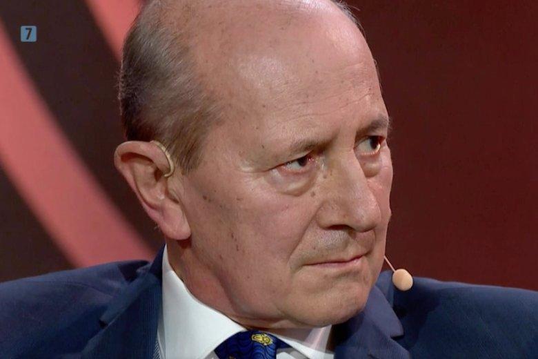 Włodzimierz Szaranowicz swoim benefisem pożegnałsięz TelewizjąPolskąoraz widzami.