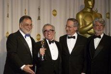 Ciekawe co na puszczaniu reklam na wręczaniu Oscarów powiedzieliby ci panowie? (Od lewej: Francis Ford Coppola, Martin Scorsese, Steven Spielberg, and George Lucas)