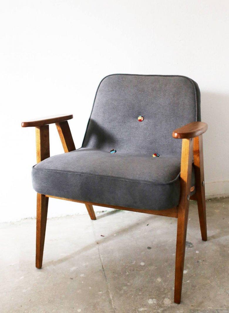 Fotel 366 po renowacji