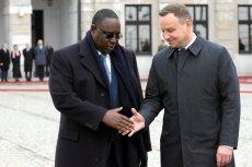 W 2016 roku prezydent Senegalu Macky Sall był z wizytą w Warszawie.