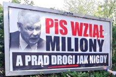 Koalicja Obywatelska ruszyła z kampanijną akcją billboardową.