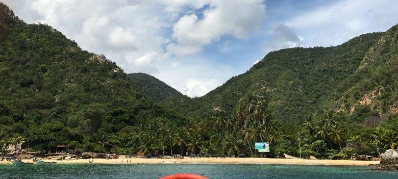 Plaża w okolicy Choroni, Wenezuela