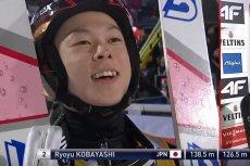 Ryoyu Kobayashi z Japonii prowadzi w klasyfikacji generalnej Pucharu Świata.