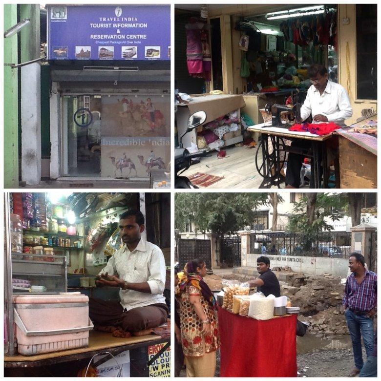 Przedsiębiorczość w Indiach ma własne, niepowtarzalne oblicze. I daje ogromne możliwości . Można  prowadzić agencję turystyczną nie majac komputera, dostępu do internetu czy drukarki. Wystarczy mieć nieco rozgarniętych klientów i przyjaciela w miescie.