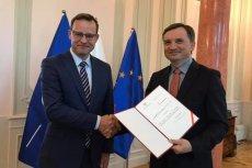 Dr Marcin Romanowski, b. asystent Zbigniewa Ziobry, nowym wiceministrem sprawiedliwości.