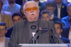 Lech Wałęsa zaskoczył swoim przemówieniem podczas konwencji KO.