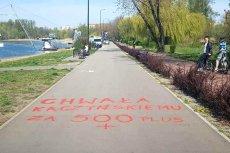Wandale zniszczyli świeżo wyremontowany chodnik na Stawikach w Sosnowcu.