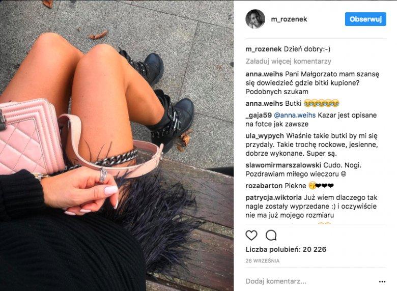 Stylizacja dnia Małgorzaty Rozenek-Majdan