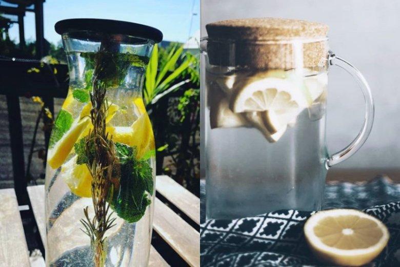 Warto pić wodę z cytryną w jesiennym okresie