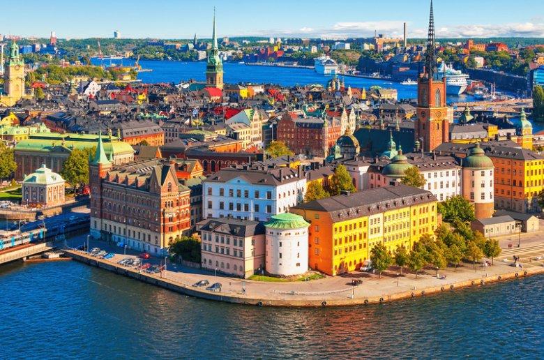 Znalezione obrazy dla zapytania kraje skandynawskie mapa