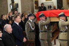 Msza pogrzebowa Kornela Morawieckiego w Katedrze Polowej Wojska Polskiego w Warszawie.
