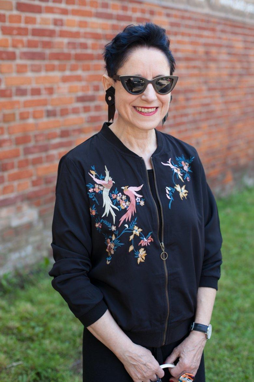 Jaga z bloga Fashion50plus pokazuje, że kobieta po 50. może być sto razy  bardziej stylowa, niż przeciętna 25-latka.