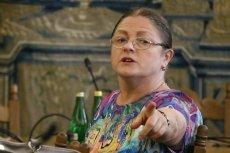 Poseł Krystyna Pawłowicz (PiS) broni profesora Nalaskowskiego i chce zmieniać ustawę o szkolnictwie wyższym.
