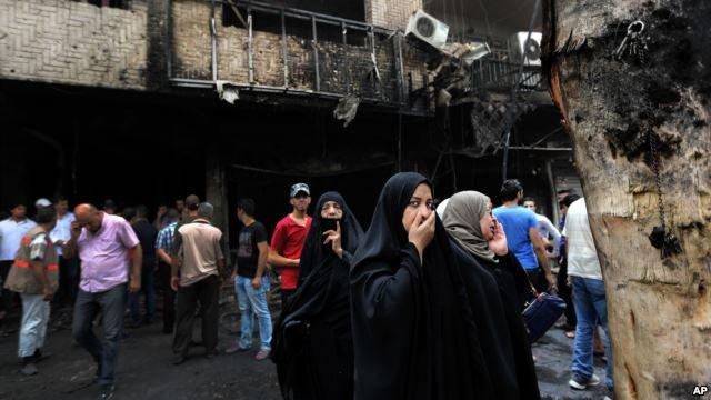 po zamachu w Bagdadzie