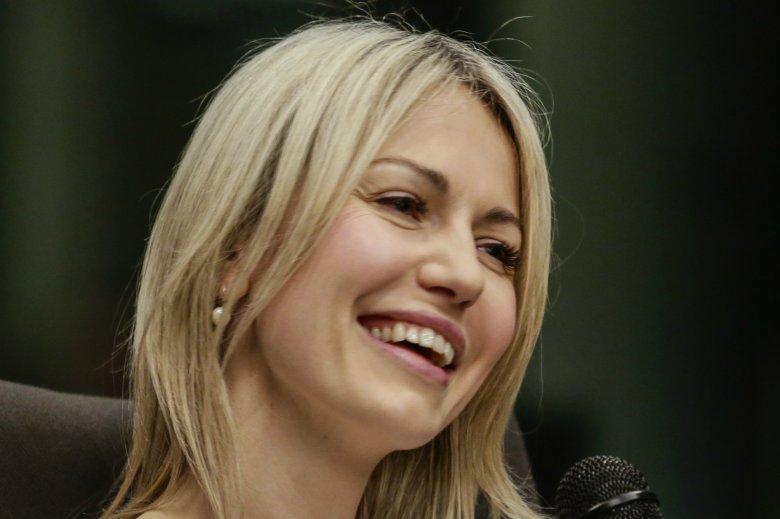 Magdalena Ogórek zażartowała z premiera Mateusza Morawieckiego.