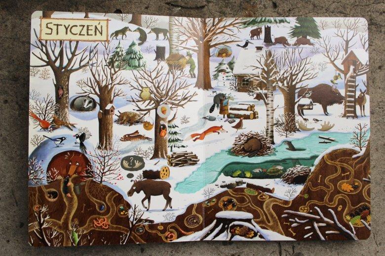 Rok w lesie, Emilia Dziubak