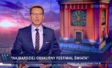Krzysztof Ziemiec z Wiadomości TVP o Przystanku Woodstock