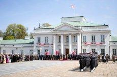 Belweder przed dwa dni lipca będzie udawał Buckingham Palace.