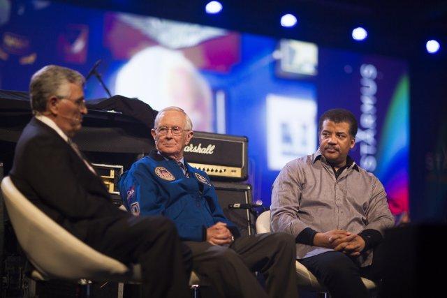 Astronauci na festiwalu naukowym Starmus