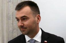 Błażej Spychalski tłumaczy prezydenta.