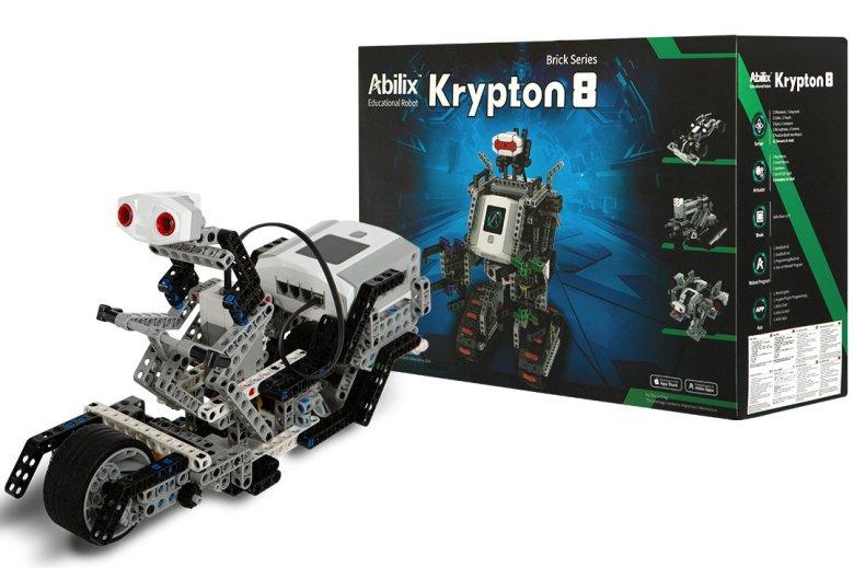 Krypton 8, czyli najbardziej zaawansowany zestaw do tworzenia własnych robotów