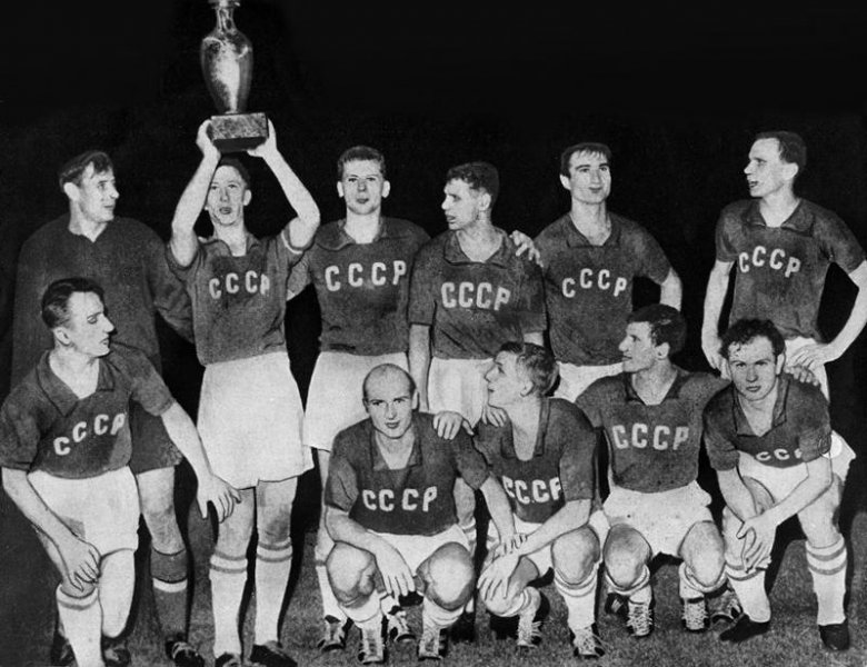 Reprezentacja ZSRR z 1960 roku. Pierwsi mistrzowie Europy