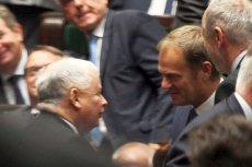 Donald Tusk zwraca się do Jarosława Kaczyńskiego o uwolnienie od ich sporów Rafała Trzaskowskiego i Andrzeja Dudę.