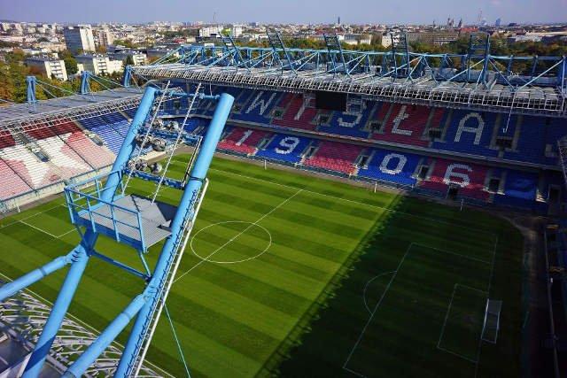 Stadion miejski w Krakowie był remontowany dzięki wsparciu Totalizatora Sportowego.