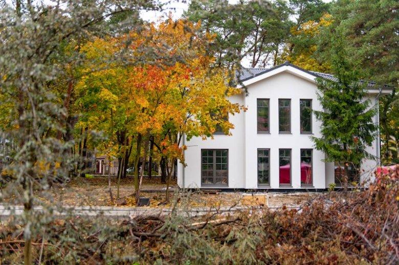 Przykład gotowego domu z elementów prefabrykowanych - projekt Classic 184 autorstwa polskiej firmy Danwood