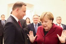Merkel spotkała się z Dudą. Spotkanie przedłużyło się.