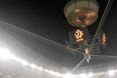 Stadion Narodowy podczas ulewy
