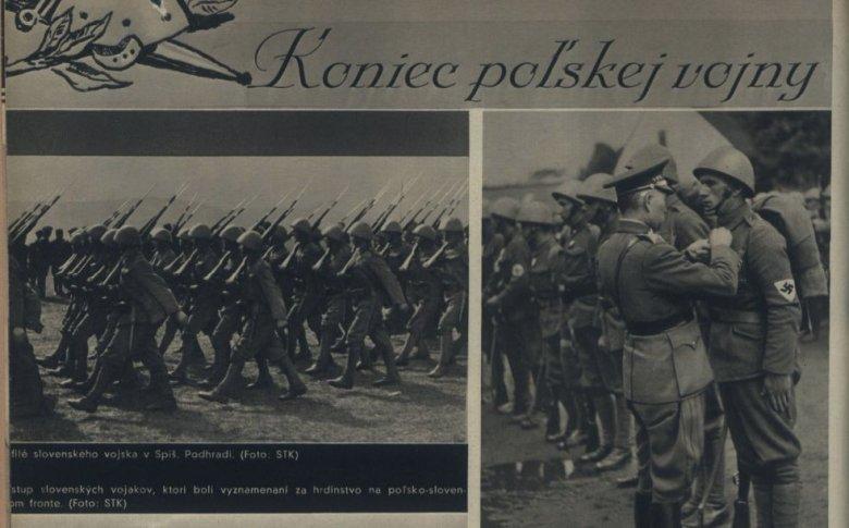 """Magazyn """"Nový svet"""" – wydanie z 7 października 1939 r."""