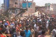 W katastrofie budowlanej w Bangladeszu zginęło co najmniej 430 osób. To kolejne ofiary bezwzględnego przemysłu tekstylnego.