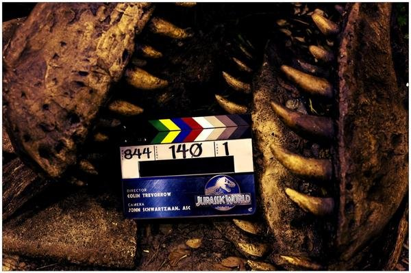 """Ostatnie zdjęcie z planu filmu """"Jurassic World"""""""