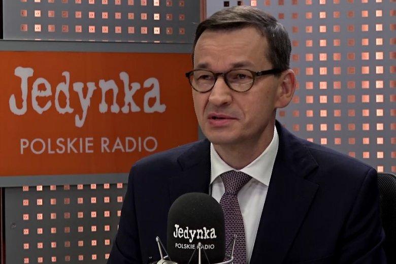 Mateusz Morawiecki nazwał Jarosława Kaczyńskiego najwybitniejszym politykiem ostatnich 30 lat.