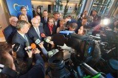 Europosłowie PO o decyzji prokuratury w Katowicach.