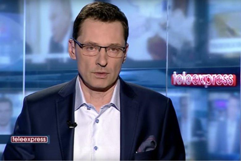 """Krzysztof Ziemiec poprowadził po raz pierwszy """"Teleexpress"""" od czasu odejścia z """"Wiadomości""""."""