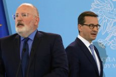 Frans Timmermans zapowiedział, że podczas wtorkowego wysłuchania Polski Komisja Europejska nie wycofa się ze skargi do TSUE dotyczącej ustawy o Sądzie Najwyższym.