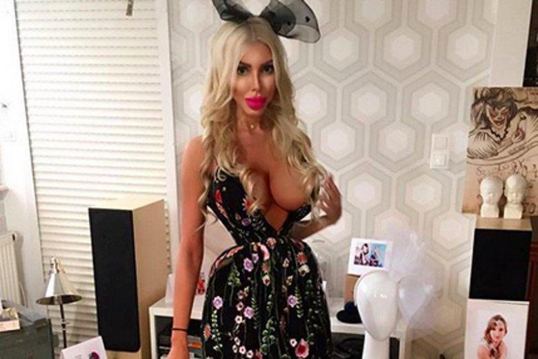 """""""Polska Barbie"""" Anella wystąpiła w """"Dzień Dobry TVN""""."""
