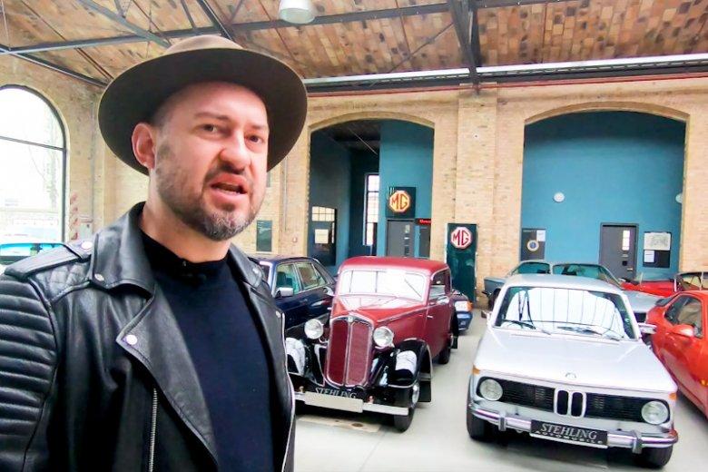 Marcin Prokop trzeciego dnia swojej podróży w Goodyearem po Berlinie trafił do Classic Remise – miejsca,  którego żaden fan motoryzacji nie może ominąć.