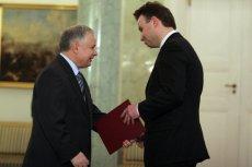Prezydent Lech Kaczyński przywiązywał ogromną wagę do stosunków polsko-żydowskich (na zdjęciu z Andrzejem Dudą)