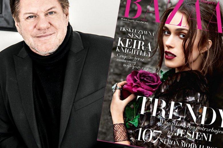 Jürg Marquard wprowadził do Polski Harper's Bazaar